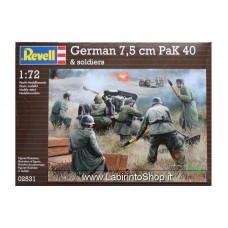Revell WWII German 7,5 cm Pak 40 and Soldiers 1/72