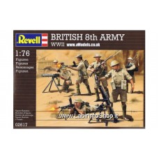 Revell WWII British 8th Army 1/76