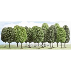 Busch - HO6585 - 12 Deciduous Tree 35 55 mm