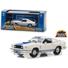 Greenlight 1:43 Charlie's Angels Jill Munroe's 1976 Ford Mustang II Cobra II (Limited Edition)