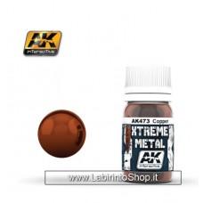 AK Interactive - AK473 - Xtreme Metal - Copper - 30ml