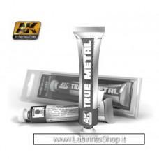 AK Interactive - AK456 - True Metal - Dark Aluminium