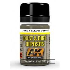 AK Interactive - AK4061 - Dust and Dirt Deposit - Sand Yellow Deposit