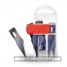 Artesania Latina Hobby Tools Pecision Cutter Blade Safety Dispenser 10 Blades