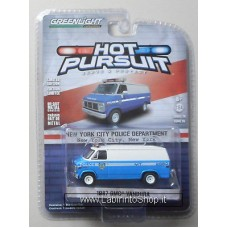 Greenlight - Hot Pursuit - 1987 GMC Vandura - New York City Police Department
