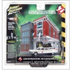 Johnny Lighting - Ghostbusters Headquarters - Diorama