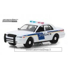 Greenlight - Hot Pursuit - 2010 Ford Crown Victoria Police Interceptor
