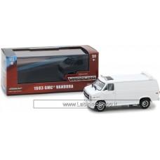 Greenlight - 1/43 - 1983 GMC Vandura Classic  White