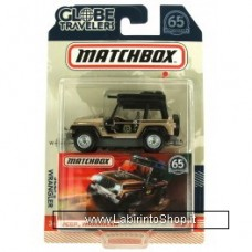 Matchbox - 65th Anniversary - Globe Travelers - Jeep Wrangler
