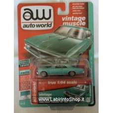 Auto World 1:64 - Vintage Muscle - 1966 Chevy Chevelle SS 396 green