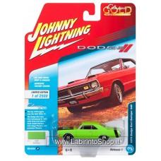Johnny Lighting - Classic Gold - 1970 Dodge Dart Swinger 340 - Light Green