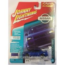 Johnny Lighting - Classic Gold - 1999 Nissan Skyline GT-R (BNR34) Bayside Blue Metallic