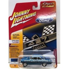 Johnny Lighting - Classic Gold - 1964 Ford Thunderbolt - Guardsman Blue Poly