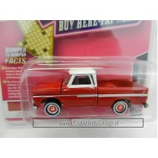 Johnny Lighting - MiJo Exclusives - 1958 Chevrolet Pickup - Rally Red