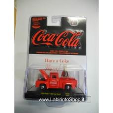 M2 - 1/64 - Coca Cola - 1956 Ford F-100 Tow Truck