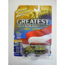 Johnny Lighting - The Greatest Generation - WWII M2 Half-truck