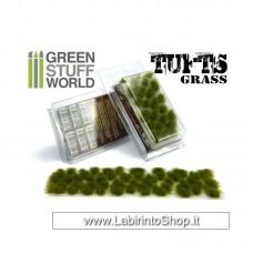 Green Stuff World Grass TUFTS - 6mm self-adhesive - Dry green
