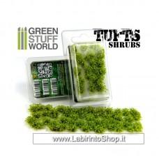 Green Stuff World Shrubs TUFTS - 6mm self-adhesive - Light Green