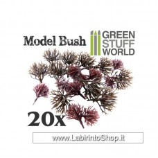 Green Stuff World 20x Model Bush Trunks