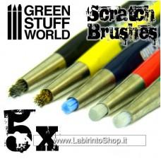 Green Stuff World Scratch Brush Pens