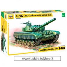 Zvezda 3550 Soviet Main Battle Tank T-72b 1/35