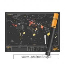 Scratch Map Chalk