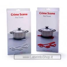 Crime Scene Hot Pot Trivet