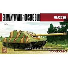Modelcollect Germany WWII Germany WWII E-100 Stug Gun C 1/72