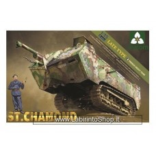 Takom Model: 1/35 French Heavy Tank St.Chamond Late Type TKM2012