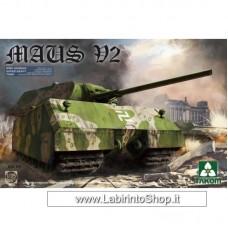 Takom Model: 1/35 WWII German Super Heavy Tank Maus V2 03.01.2050