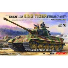 MENG German Heavy Tank Sd.Kfz.182 King Tiger (Henschel Turret) TS-031 1/35
