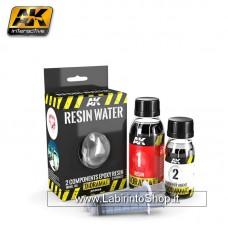 AK Interactive - AK8043 - Resin Water 2 Ccomponents Epoxy Resin 375ml