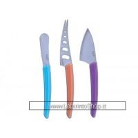 Coltelli accessori set di 3 Pezzi Manico Colorato