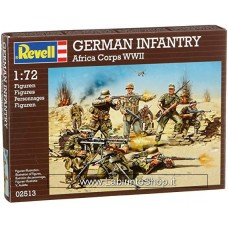 Revell German Infantry Africa Corps WWII 1:72