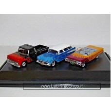 Oxford Set Chevrolet Hot Rods 3 pieces 1/87