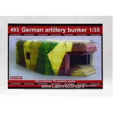 Plus Model 493 - German Artillery Bunker 1/35