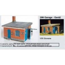 Plus Model 299 - Garage 1/35