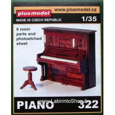 Plus Model 322 - Piano 1/35