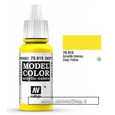 Vallejo Model Color 70.915 Deep Yellow 17ml