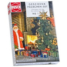 Busch - HO1140 - Christmas Tree Gift Set