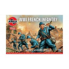 Airfix - 1/76 - Vintage Classics - WWI French Infantry