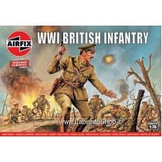 Airfix - 1/76 - Vintage Classics - WWI British Infantry