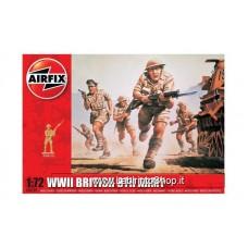 Airfix - 1/72 - WWII British 8th Army