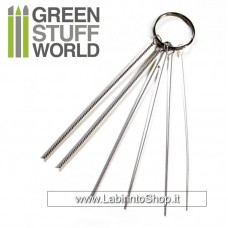 Green Stuff World Airbrush Nozzle Cleaning Wires