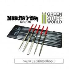 Green Stuff World Diamond Needle Files Set - Grit 150
