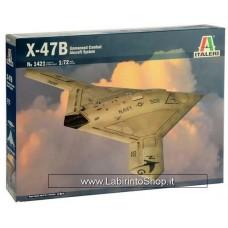 Italeri 1421 - X-47B Unmanned Combat Aircraft System 1/72