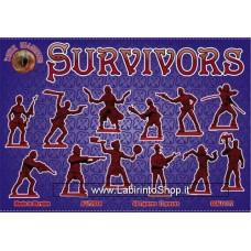 Dark Alliance ALL72038 Survivors (antizombies) 1/72