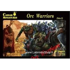 Caesar Miniatures Caesar Miniatures Orc Warriors Set 2 1/72