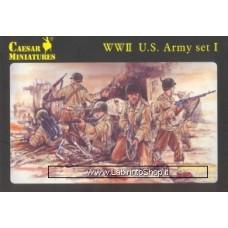 Caesar Miniatures Set H054 WWII US Army (Set 1)