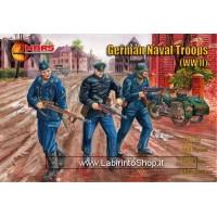 Mars 112 - WWII German Navaltroops - 40 figures 1/72